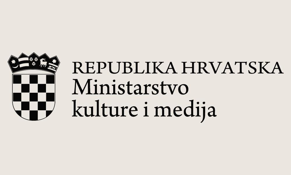 Ministarstvo kulture RH - logo